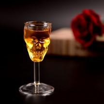 Чаша от стъкло с формата на креативен мини череп WSKB2