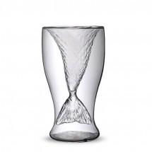 Модерна чаша русалка от боросиликатно стъкло WSKB3