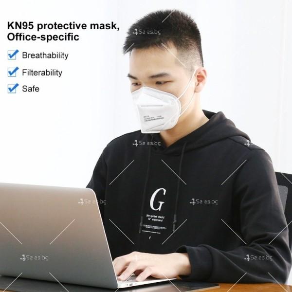 Защитна филтрираща маска за лице KN95 FFP2 8