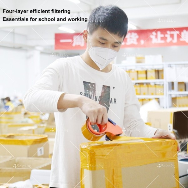 Защитна филтрираща маска за лице KN95 FFP2 9