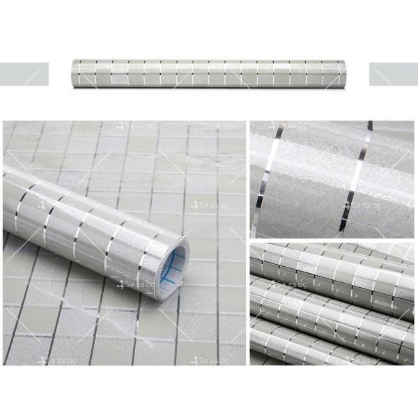 Самозалепващо алуминиево или цветно PVC фолио за плот TV239 24