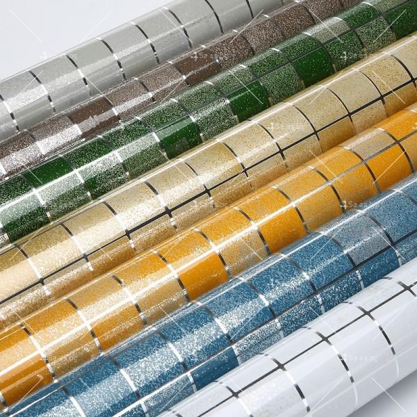 Самозалепващо алуминиево или цветно PVC фолио за плот TV239 25