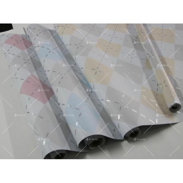 Самозалепващо алуминиево или цветно PVC фолио за плот TV239 30