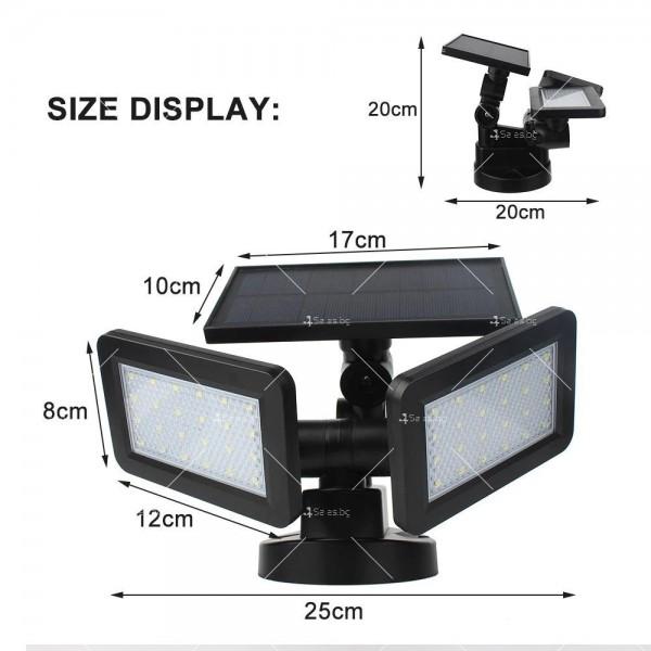 Градинска соларна лампа 6