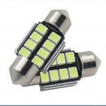 Диодна LED крушка за плафон - 39 мм CAR LED 10