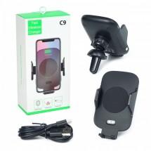 Безжично зарядно устройство със сензор Wireless Charger C9