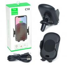 Безжично зарядно устройство със сензор Wireless Charger C10