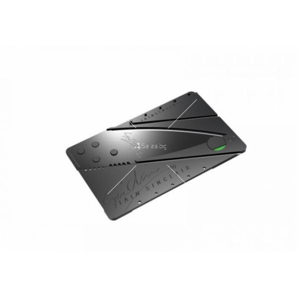Сгъваем нож с формата на визитка TV484 2