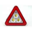 Мултифункционален соларен LED триъгълник за кола HS - 8017 3
