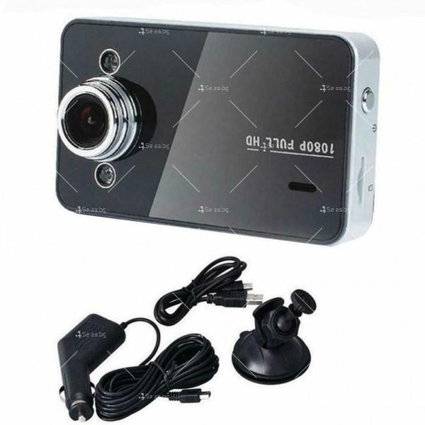 CAR DVR Компактна камера с Full HD 1080P 6