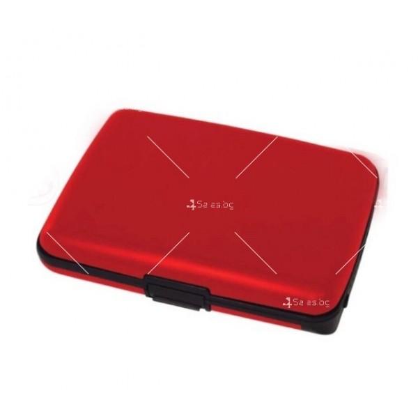 Портфейл - органайзер за пари, карти, смартфони и функция на зарядно TV656 6
