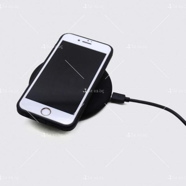 Безжично бързо зарядно - Fast Wireless Charger TV715B 6
