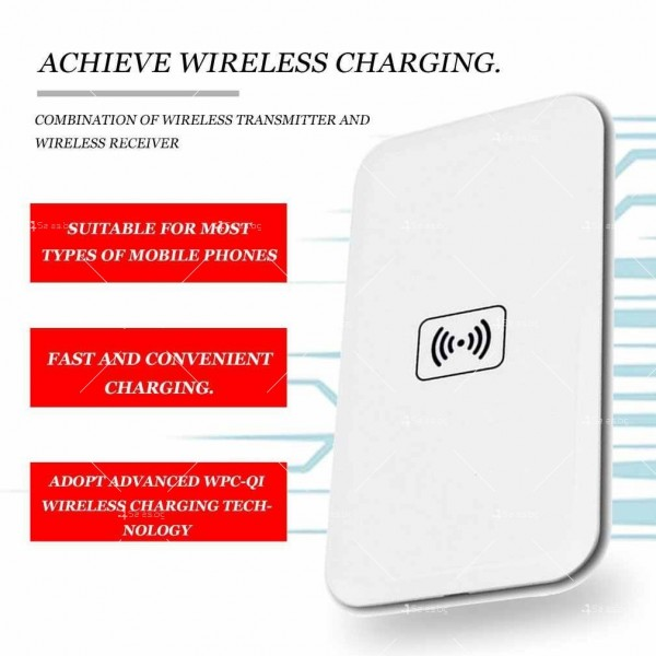 Иновативно wireless зарядно Сompatible TV724 7