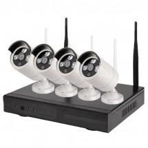 Система за видео наблюдение 5G DVR 4-канална с 4 безжични камери