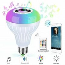 Музикална крушка със светодиодно осветление и дистанционно – 13 цвят TV483