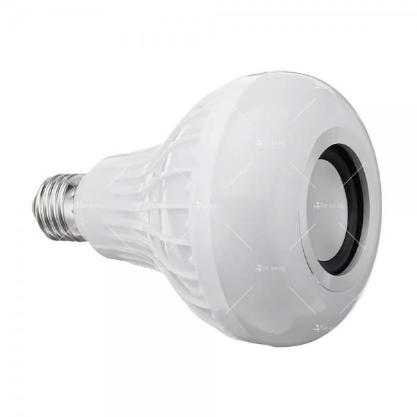 Музикална крушка със светодиодно осветление и дистанционно – 13 цвят TV483 8