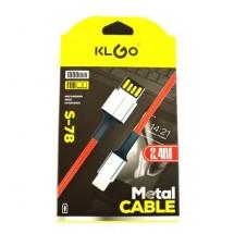 Микро USB кабел KLGO S-78