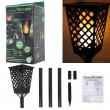 Градинска соларна лампа фенер Dancing Tiki Light с ефект на пламък H LED30 5