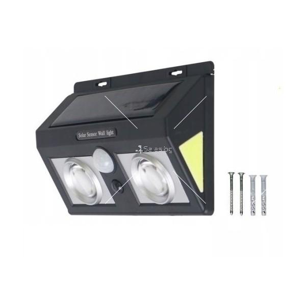 Соларна лампа с LED диоди и сензор за движение H LED7 3