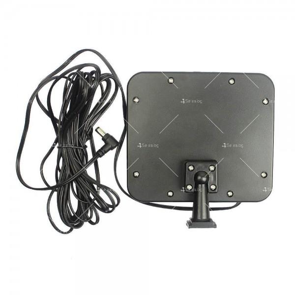 Външна лампа със соларен панел и датчик за движение - 60 диода H LED13 4