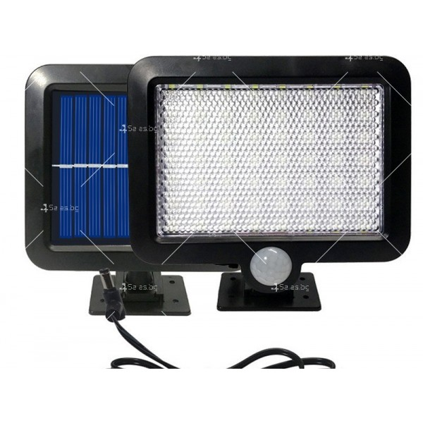 Външна лампа със соларен панел и датчик за движение - 60 диода H LED13 10