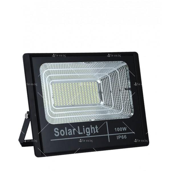 Прожектор за външен монтаж със соларен панел и дистанционно H LED34 7