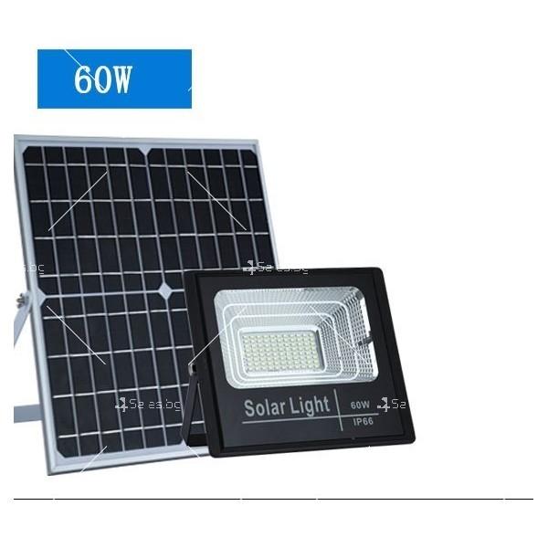 Прожектор за външен монтаж със соларен панел и дистанционно H LED34 4