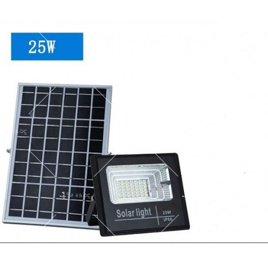 Прожектор за външен монтаж със соларен панел и дистанционно H LED34