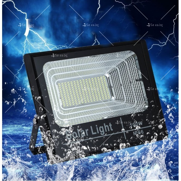 Прожектор за външен монтаж със соларен панел и дистанционно H LED34 10