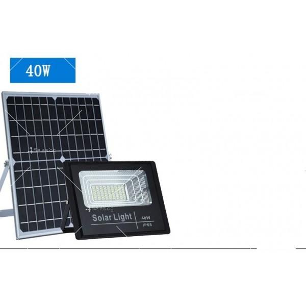 Прожектор за външен монтаж със соларен панел и дистанционно H LED34 3