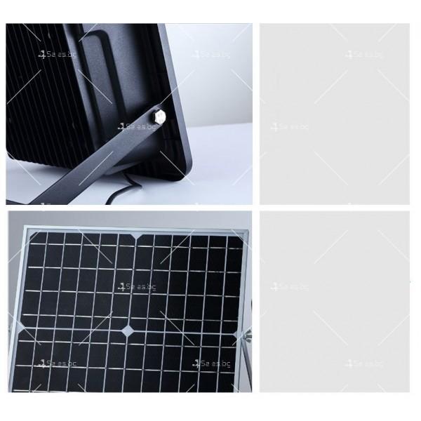 Прожектор за външен монтаж със соларен панел и дистанционно H LED34 20