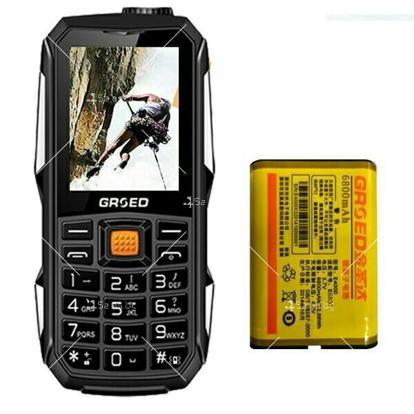 Удароустойчив GSM с две SIM карти, който зарежда други телефони C8000 2