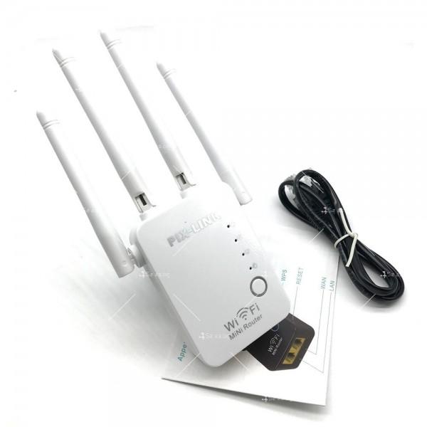 Безжичен Wi-Fi рутер с четири антени WF23 4