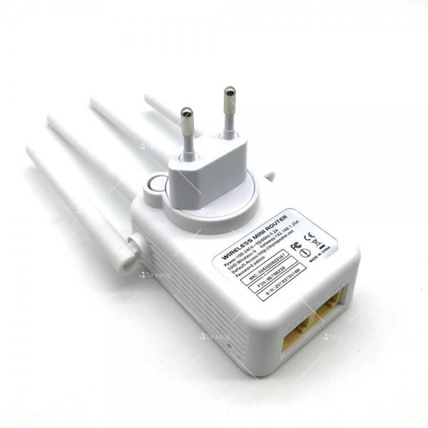 Безжичен Wi-Fi рутер с четири антени WF23 5