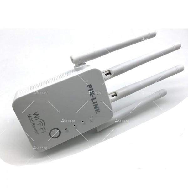 Безжичен Wi-Fi рутер с четири антени WF23 7