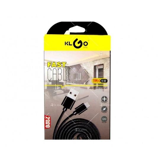 Микро USB кабел KLGO S-52 CA46B