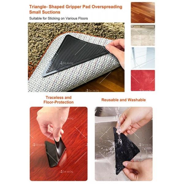 Антиплъзгащи силиконови подложки за килими Ruggies TV366 7