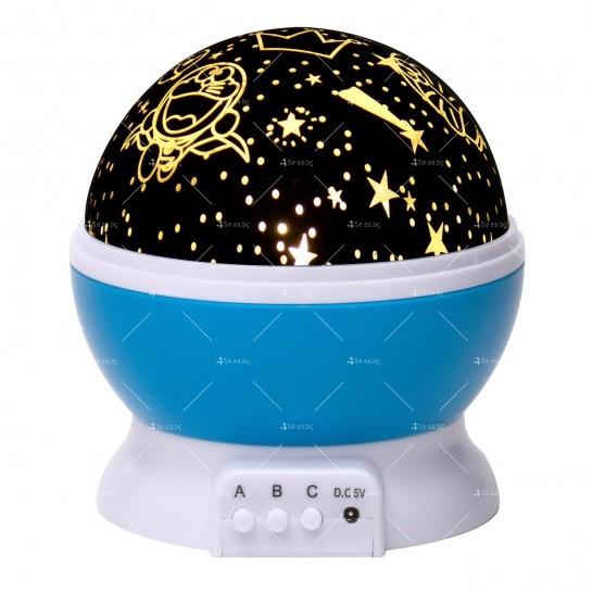 Нощна лампа детски планетариум TV343