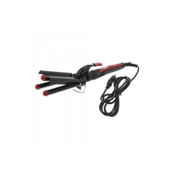 Преса за коса Zephyr Z-1102-MK ретро, керамична, 55W, Черна TV489 2