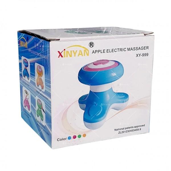 Компактен малък троен масажор за тяло Apple XY-999 TV496 1