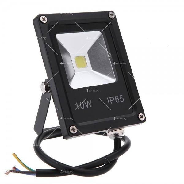 LED прожектор 10 W клас на защита IP65 3