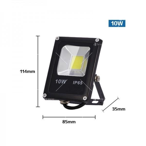 LED прожектор 10 W клас на защита IP65 4