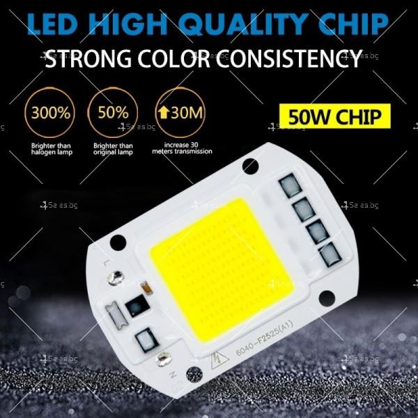 LED прожектор 10 W клас на защита IP65 6