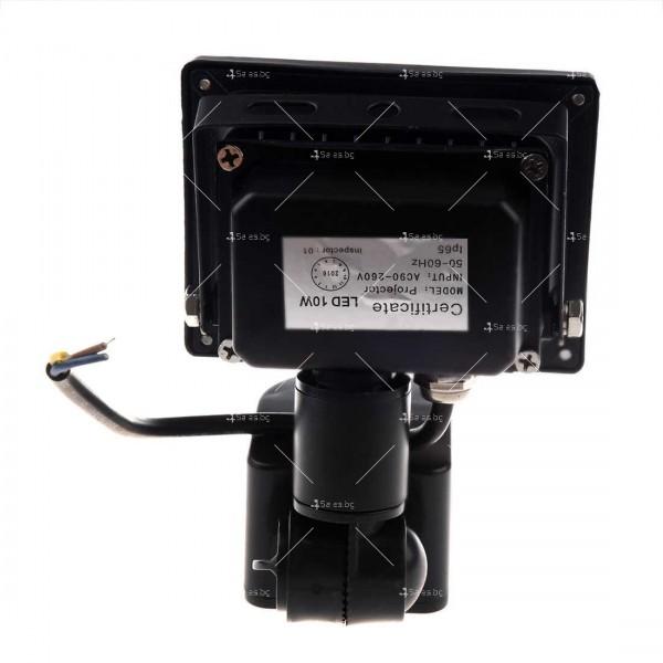Лед прожектор с PIR датчик 10W, 20W, 30W или 50W клас на защита IP65 GDL7 11