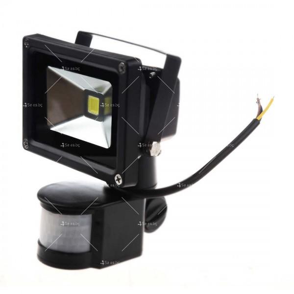 Лед прожектор с PIR датчик 10W, 20W, 30W или 50W клас на защита IP65 GDL7 12