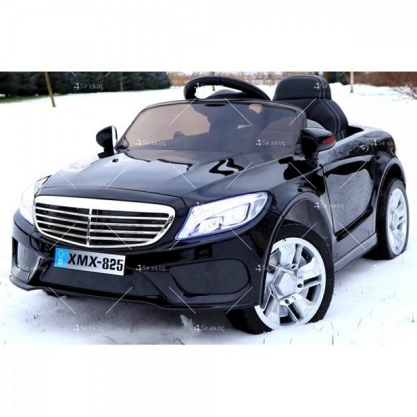 Едноместна детска кола с акумулаторна батерия реплика на Mercedes XMX-825 3