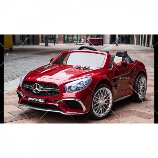 Детска кола с акумулаторна батерия реплика на Mercedes Benz SL65