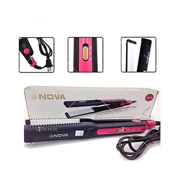Преса за изправяне на коса NOVA NHC – 325 TV577 7