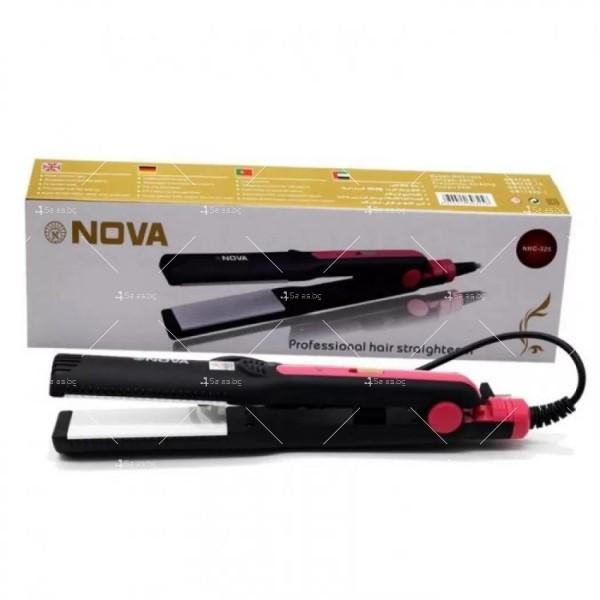 Преса за изправяне на коса NOVA NHC – 325 TV577 5