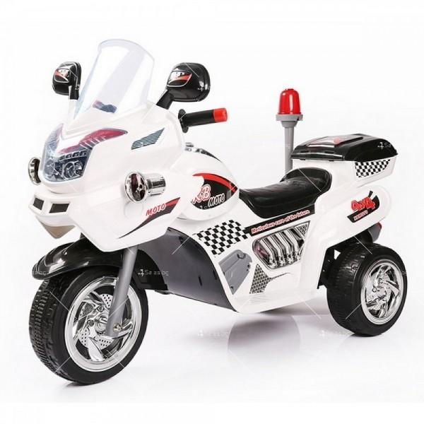 Полицейски мотор с 2 скорости -12V 2